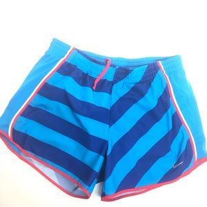 Nike Dry Fit Striped Running Shorts